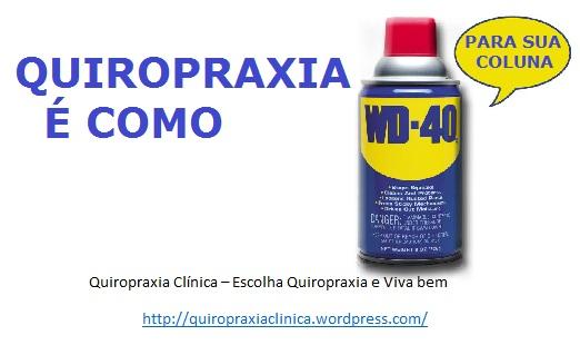 Quiropraxia é o melhor remédio para coluna vertebral.