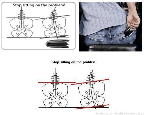 Você está sentando na causa da sua dor nas costas?
