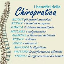 benefici della chiropratica nel corpo